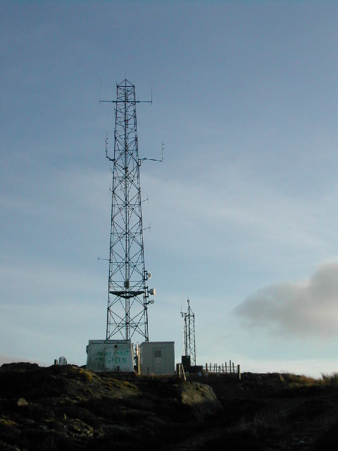 Glen Ogle Emergency Services Mast