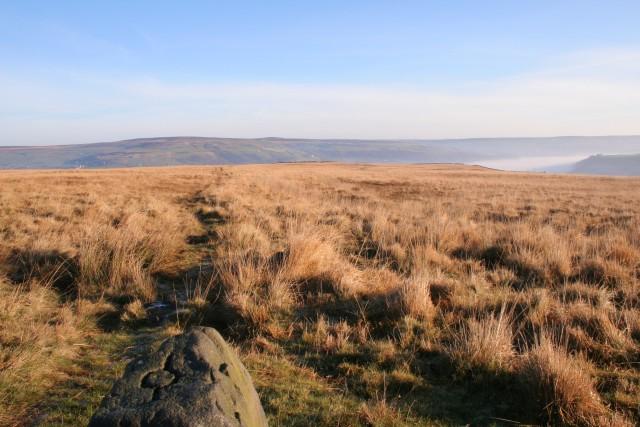 Footpath, Erringden Moor