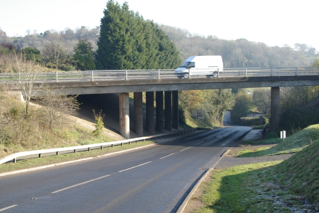 A30 Overbridge, Pocombe Bridge, Exeter