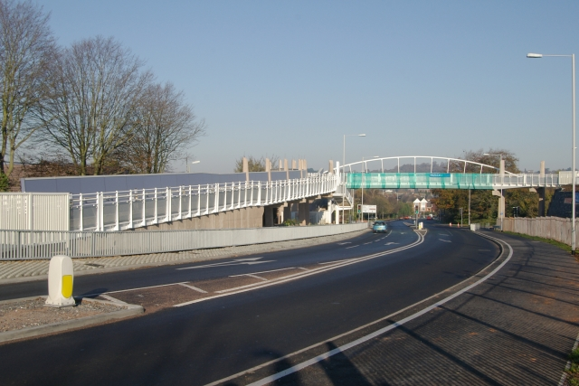 New footbridge, Whipton, Exeter