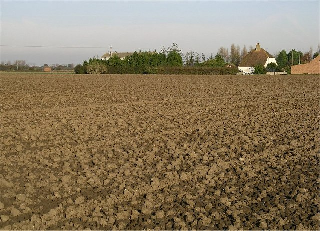 Open farmland in East Kent