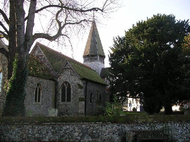 Worth Church in East Kent