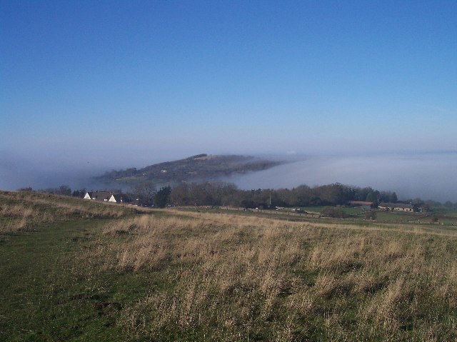 "Mist ""Pouring"" Through The Cotswolds"