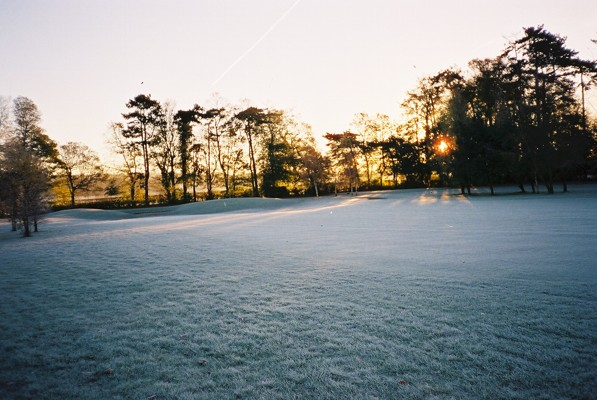 Frosty dawn, Hennerton Golf Club