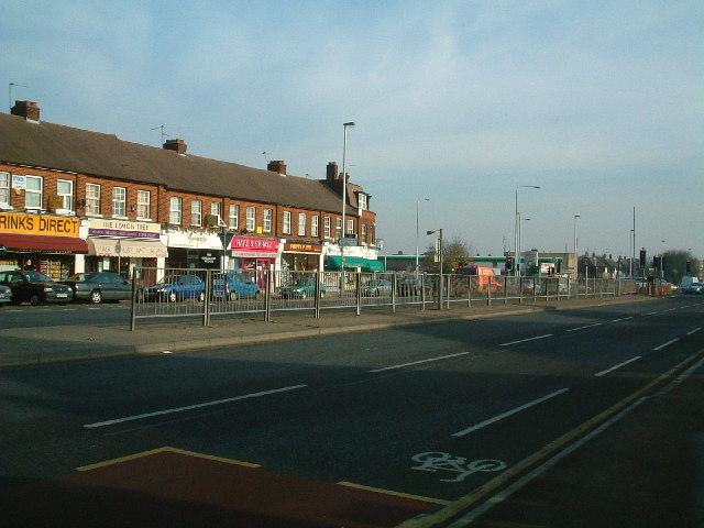 Uxbridge Road - Long Lane junction