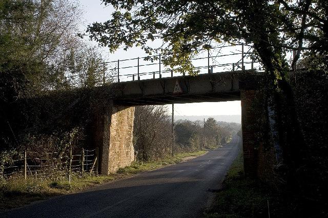 Railway Bridge, Creech Bottom, Dorset