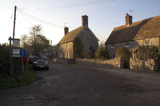 Road leading to Bradle Farm, Dorset
