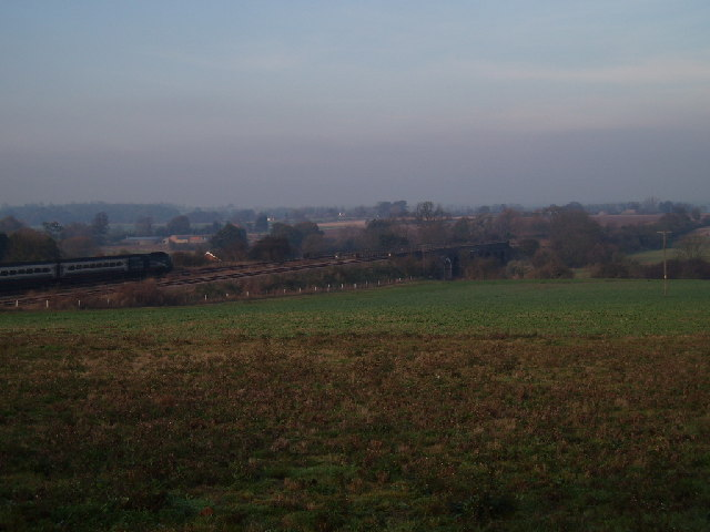 View from Oakley hill