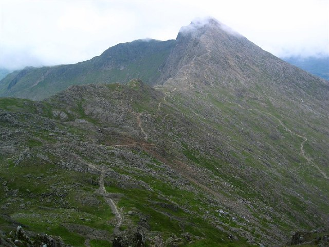 The Watkin Path and Y Lliwedd