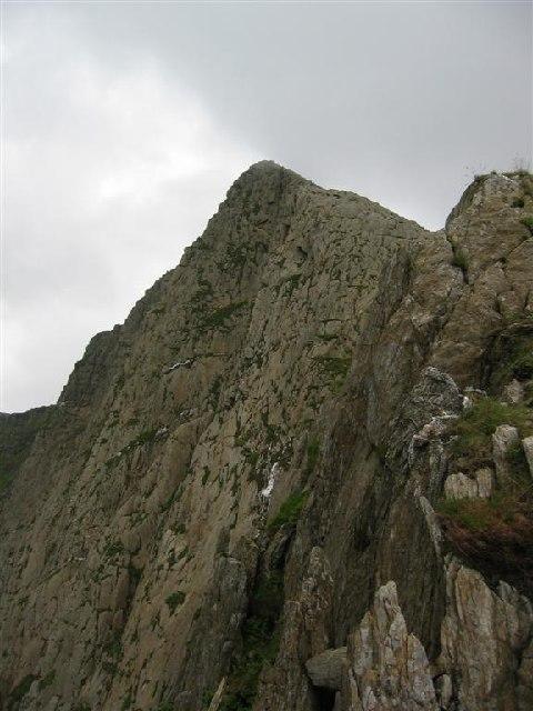 Y Lliwedd - North Face