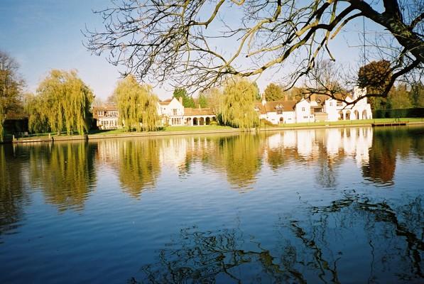 River Thames - looking across to Medmenham