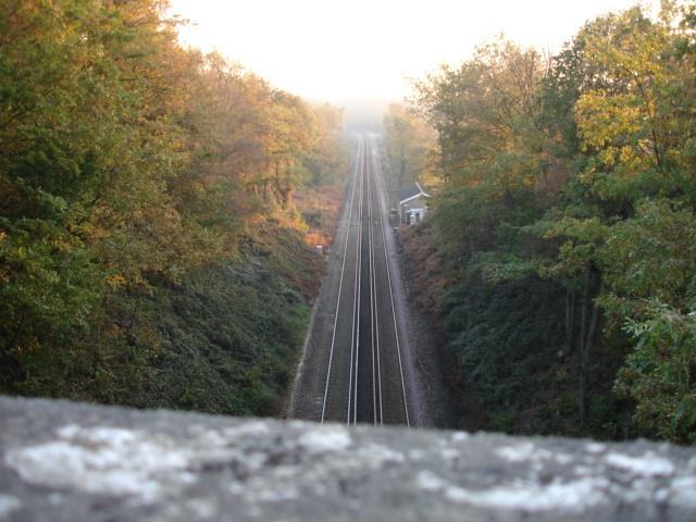 Railway Line Crowhurst East Sussex