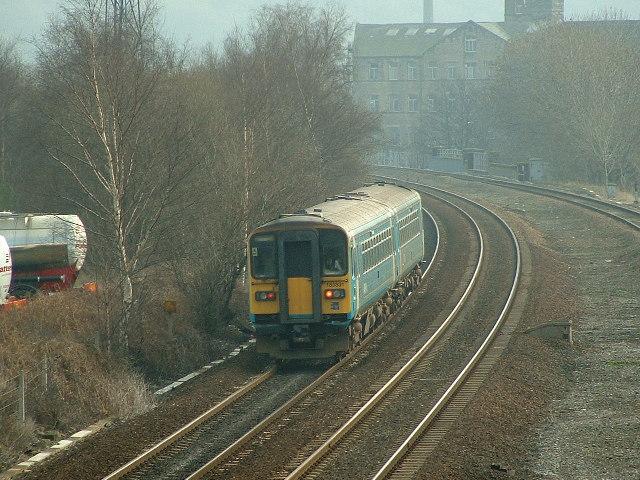 Mirfield to Huddersfield Line