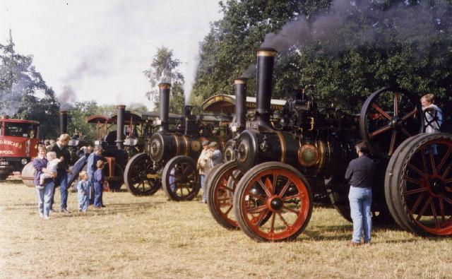 Steam Fair at Astle Park Chelford