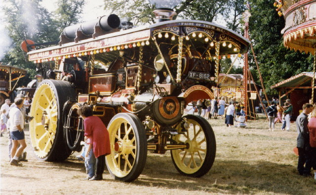 Steam Fair at Astle Park Chelford