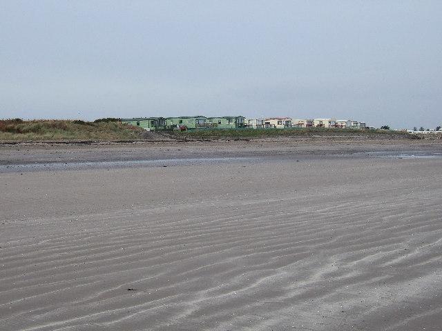 Sandhead Caravan site