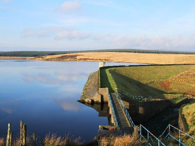 Penwhirn Reservoir near Stranraer