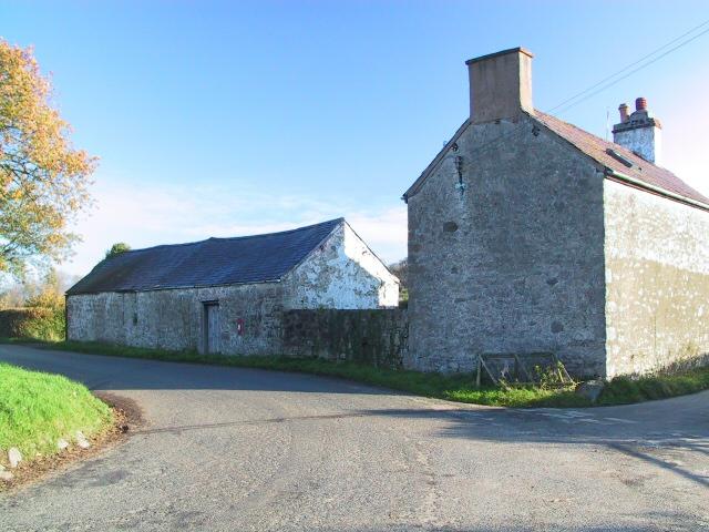 House and Barn at Rhewl