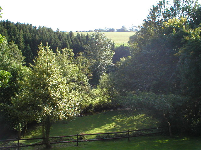 View from Rock Cottage to Tyn-y-Coed