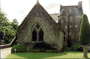 Stobhall Castle and chapel