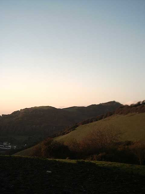Hillsborough from Beara Farm