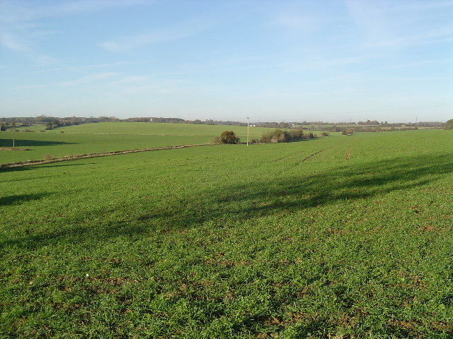 River Ash valley near Gravesend