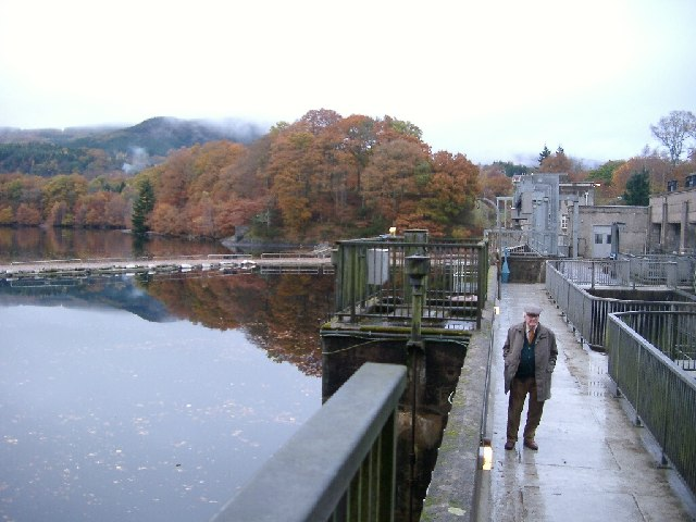 Pitlochry Dam and Faskally