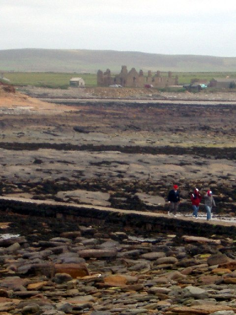 Looking towards Birsay from the Brough