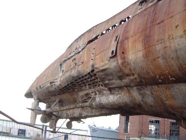 U 534 at  historic ships display, Birkenhead