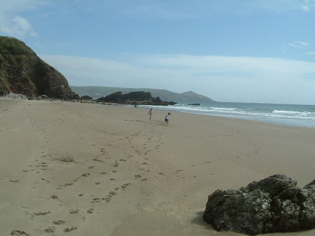 Whitsand Bay near Chamber Rock