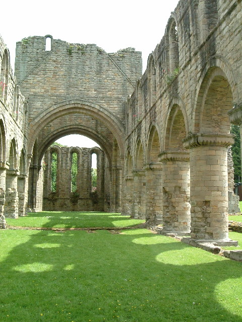 Buildwas Abbey - Nave