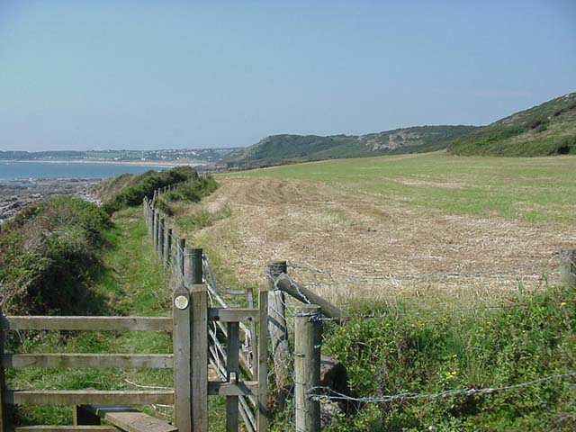 Coastal Path near Slade