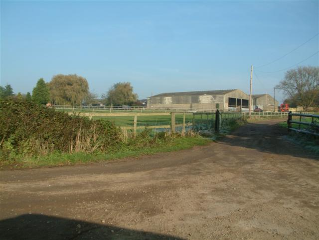 The Entrance to Ewe Farm