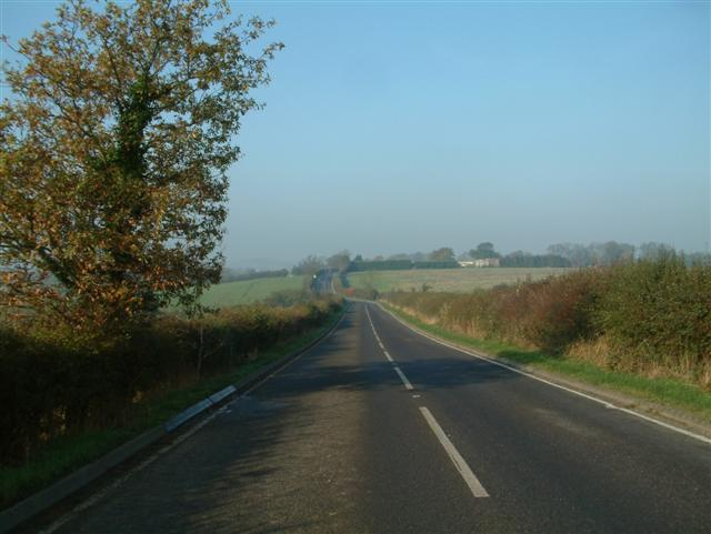 The road to Stadhampton