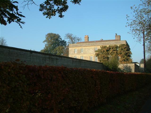 Denton House seen from Denton Lane