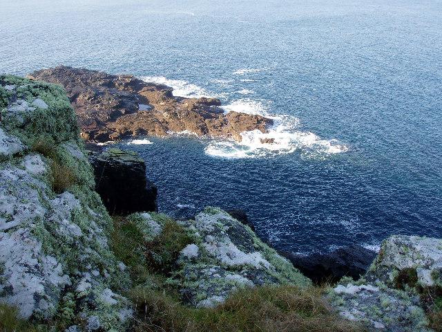 Rocks below Porthmeor Point