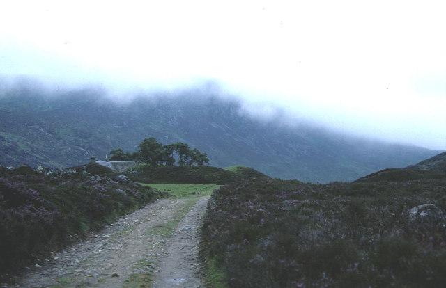 Lochcallater Lodge.