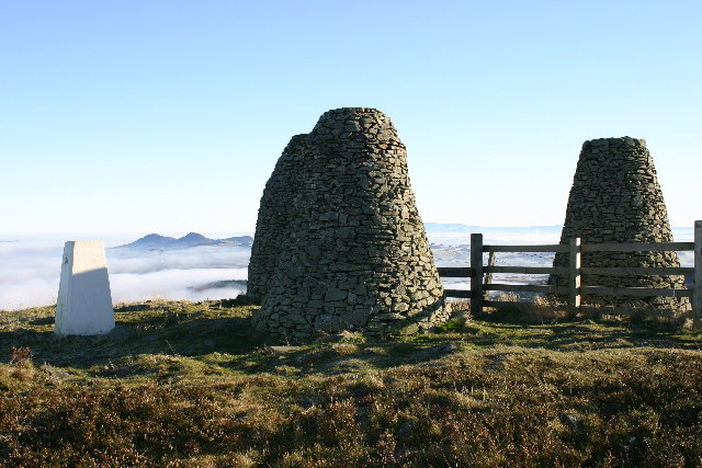 Three Brethren and trig pillar