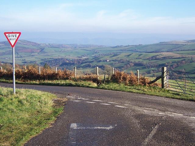 View above Hafodwen