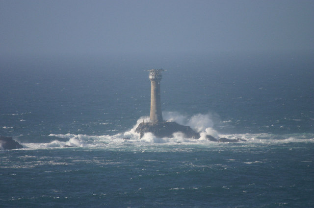 The Longships lighthouse