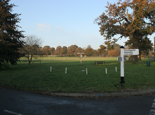 Barns Green playing fields