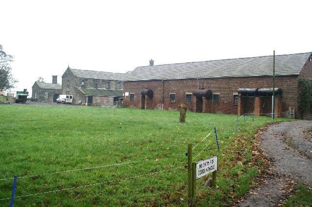 Mossborough Hall farm outbuildings