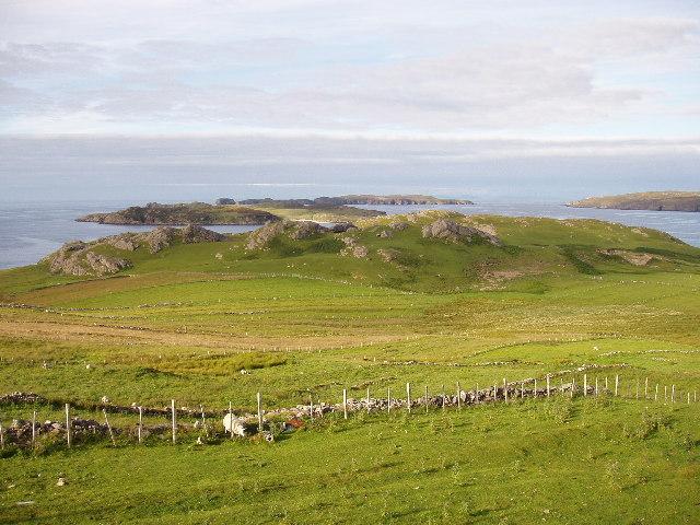 Ard Skinid headland, Talmine, Sutherland