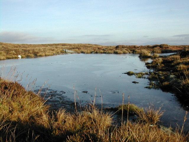 Lochan on Beinn Leabhainn