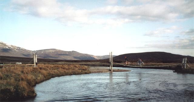 Bridge by Loch Pattack