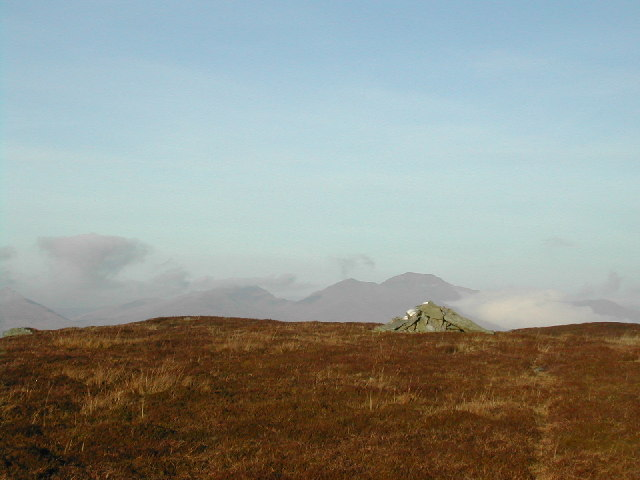 Meall Buidhe Summit Cairn