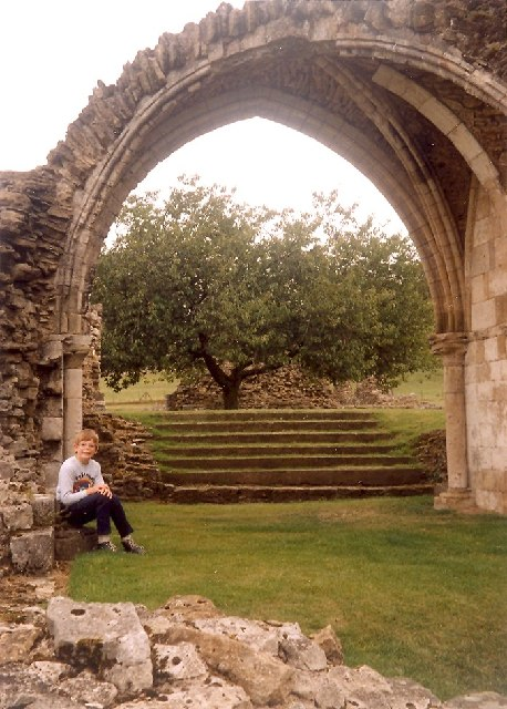 Arch at Kirkham Priory