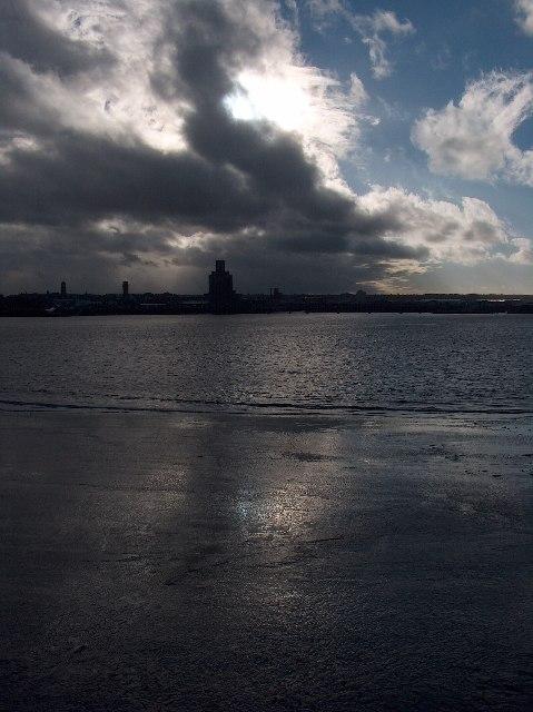 River Mersey and Birkenhead