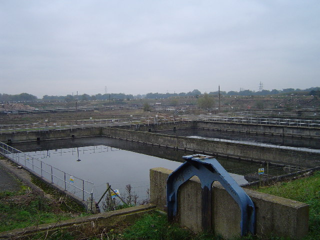 Sewerage Works, Fengate, Peterborough