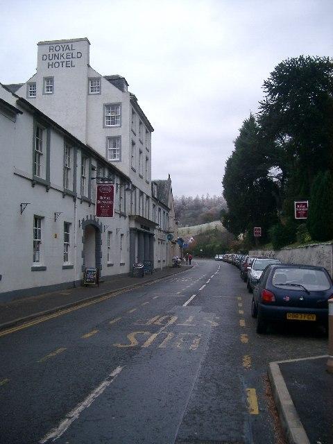 Road to Blairgowrie, Dunkeld